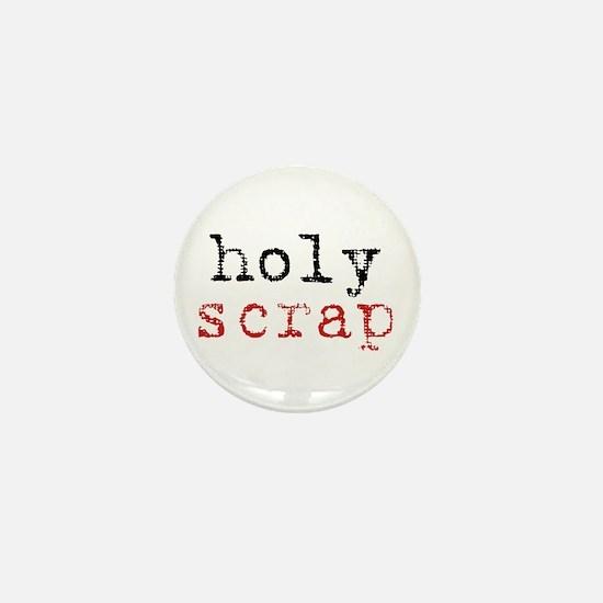 Holy Scrap - Scrapbooking Mini Button