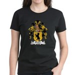 Petter Family Crest Women's Dark T-Shirt