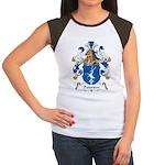 Petersen Family Crest Women's Cap Sleeve T-Shirt