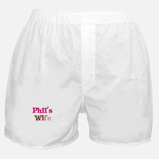 Phil's Wife Boxer Shorts