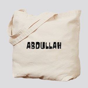 Abdullah Faded (Black) Tote Bag