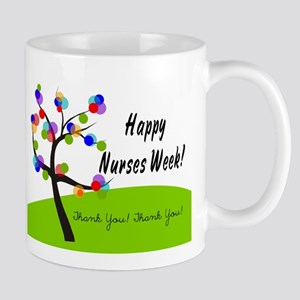 Nurse Week card 1 Mugs