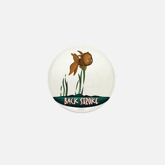 Back Stroke Mini Button
