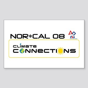 NCaFLL Climate Connections Rectangle Sticker 10 p