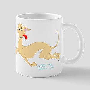 Fawn Greyhound Mug