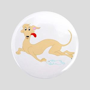 "Fawn Greyhound 3.5"" Button"