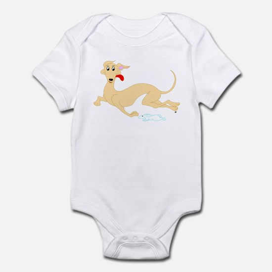 Fawn Greyhound Infant Bodysuit