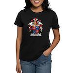 Pader Family Crest Women's Dark T-Shirt