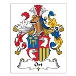 Ort Family Crest Small Poster