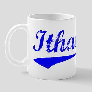 Vintage Ithaca (Blue) Mug