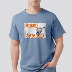 MAKIN' GROCERIES Ash Grey T-Shirt