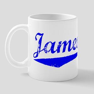 Vintage Jamestown (Blue) Mug