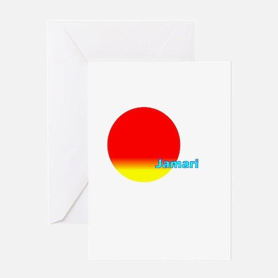Jamari Greeting Card