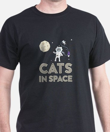 Cats in Space Ctfb7 T-Shirt