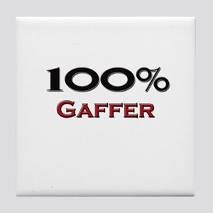 100 Percent Gaffer Tile Coaster