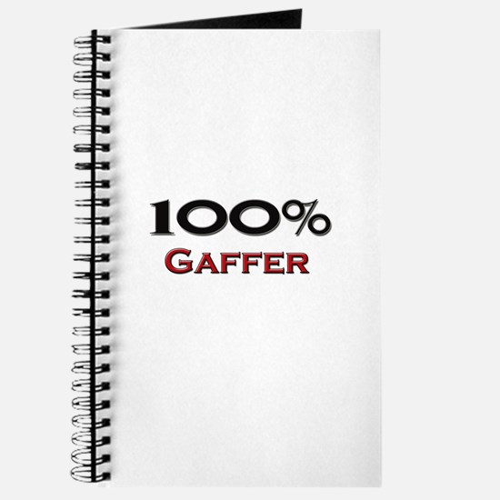 100 Percent Gaffer Journal