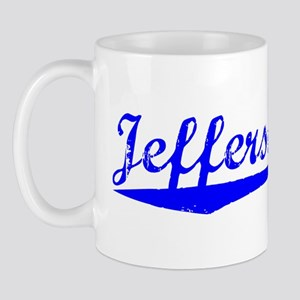 Vintage Jefferson .. (Blue) Mug