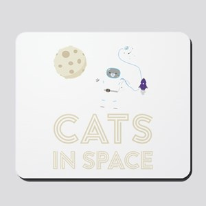 Cats in Space Ctfb7 Mousepad