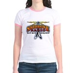 SkidRoweRadio Jr. Ringer T-Shirt