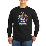 Oppen Family Crest Long Sleeve Dark T-Shirt