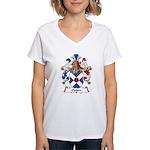 Oppen Family Crest Women's V-Neck T-Shirt