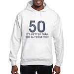 50th Gift Ideas, 50 Hooded Sweatshirt