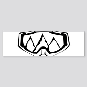 MTB Mask Bumper Sticker