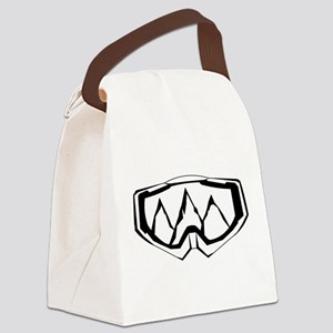 MTB Mask Canvas Lunch Bag
