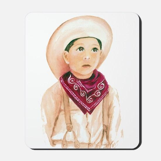 Our Little Cowboy Mousepad