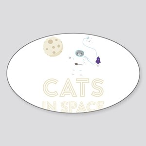 Cats in Space Ctfb7 Sticker