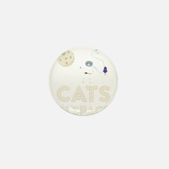 Cats in Space Ctfb7 Mini Button (10 pack)