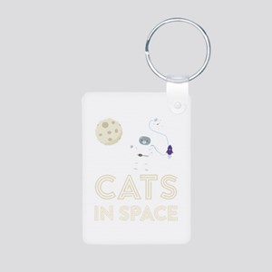Cats in Space Ctfb7 Keychains