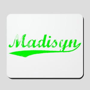Vintage Madisyn (Green) Mousepad
