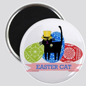 Easter Cat Magnets