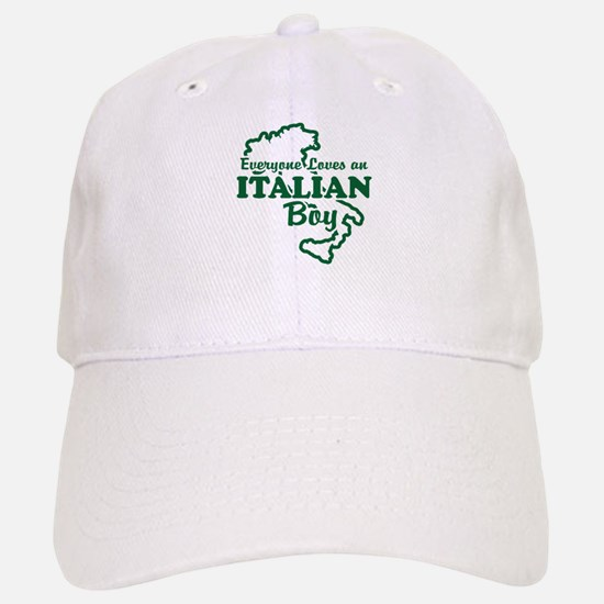 Everyone Loves an Italian Boy Baseball Baseball Cap