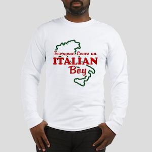 Everyone Loves an Italian Boy Long Sleeve T-Shirt