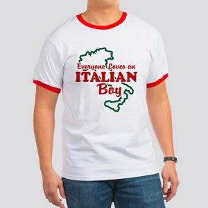 Everyone Loves an Italian Boy Ringer T
