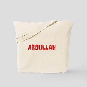 Abdullah Faded (Red) Tote Bag