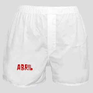 Abril Faded (Red) Boxer Shorts