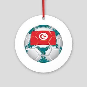 Tunisia Championship Soccer Keepsake (Round)