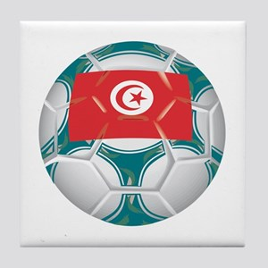 Tunisia Championship Soccer Tile Coaster