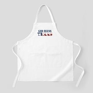 God Bless Texas BBQ Apron