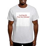 Lord Save Me Ash Grey T-Shirt
