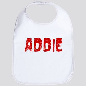 Addie Faded (Red) Bib