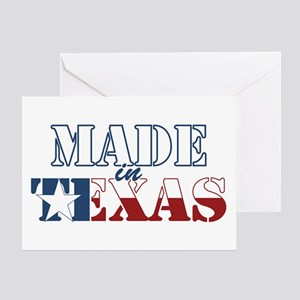 Made in texas greeting cards cafepress made in texas greeting card m4hsunfo