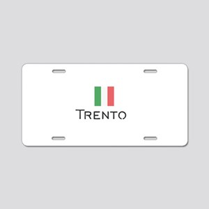 Trento Aluminum License Plate
