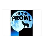 WOLF PROWL Postcards (Package of 8)