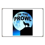 WOLF PROWL Banner