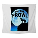 WOLF PROWL Wall Tapestry
