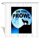 WOLF PROWL Shower Curtain